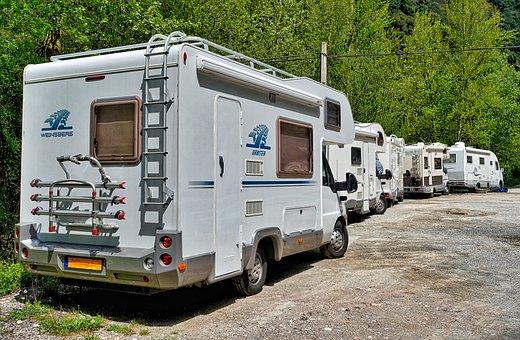 Motorhomes, Park, Campers, Holiday, Rv Camping