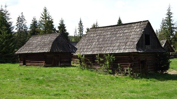 Jurgów, Poland, Shepherd's Shelters, Abandoned