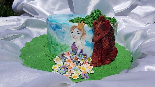 Cake, Princess, Bear, Obyknovennoe Chudo