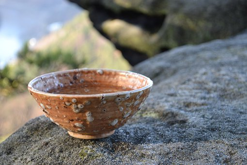 Bowl, Pottery, Rock, Rustic, Culture, Traditional