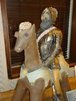 Don Quixote, Statue, Sculpture