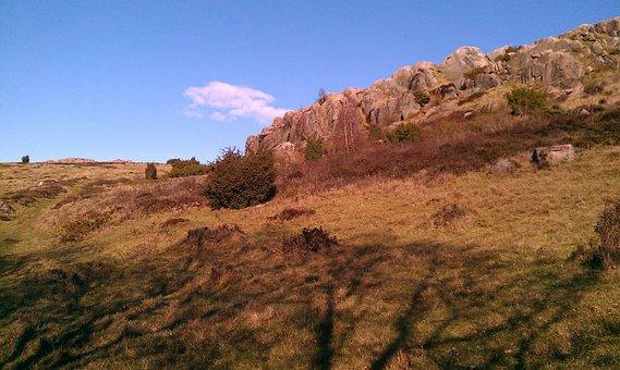 Rock Formations, Slots Lyngen, Bornholm