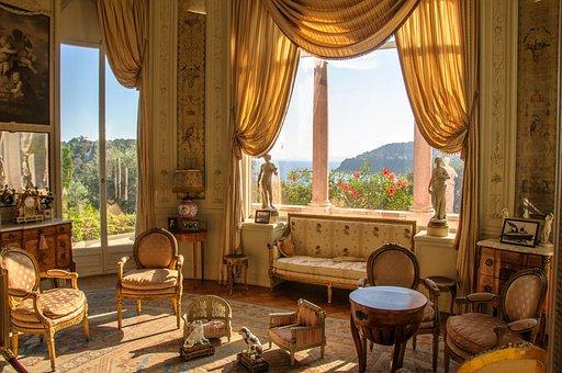 Room, Exhibition, Splendor, Rothschild Villa