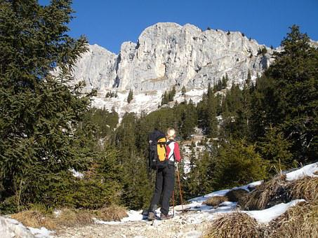 Hiking, Mountains, Hochwiesler, Red Flüh, Tannheimertal
