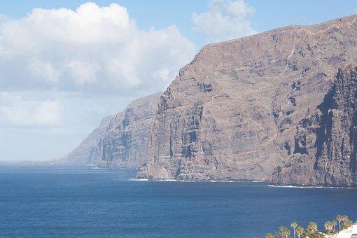 Cliffs, Cliff, Los Gigantes, Tenerife