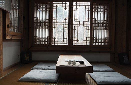 Traditional, Tea House, Hanok, Oriental, Interior