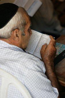 Old, Man, Prayer, Siddur, Religion, Judaism, Kip, Vera