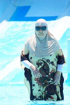 Grandma, Women, Old, Human, Water, Holiday, Tunisia