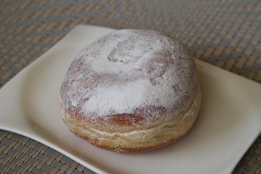 Donut, Apricot Donut, Carnival Donut
