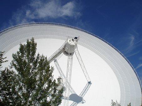 Eifel, Effelsberg, Radio Telescope, Radio Waves