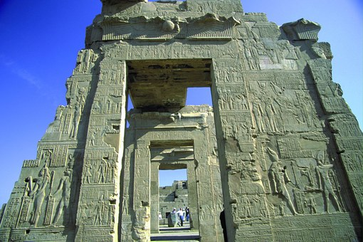 Egypt Views, Stone Gate, Scenery