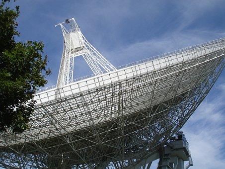 Effelsberg, Radio Telescope, Eifel, Radio Waves, Space