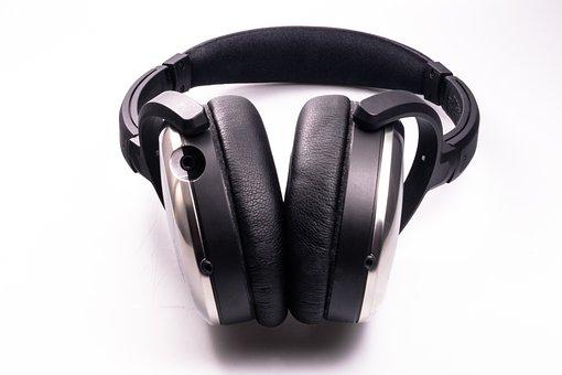 Headphones, Earphones, Music, Listening, Audio