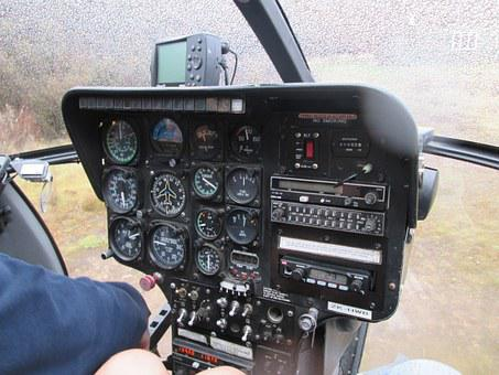 Helicopter, Helicopter Control Panel, Control Panel