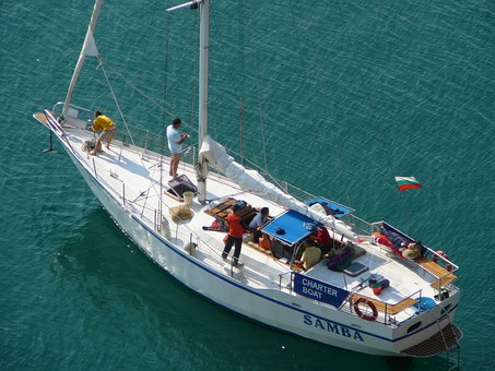 Yacht, Sea, Journey, Bulgaria, Cape Kaliakra