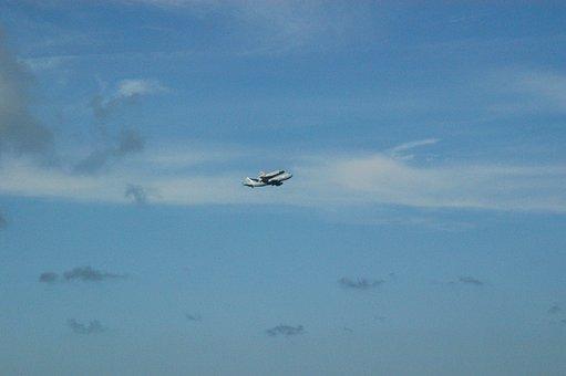 Space, Shuttle, Piggyback, Florida, Nasa, Science