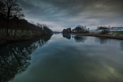 River, Reuss, Water Running