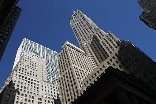 Skycraper, New York, Manhattan, Architecture, Skyline