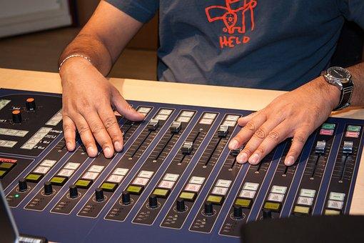 Mixer, Sound Studio, Speaker Cab, Director Desk