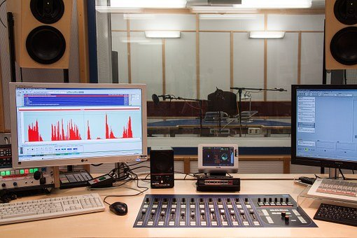 Sound Studio, Speaker Cab, Director Desk