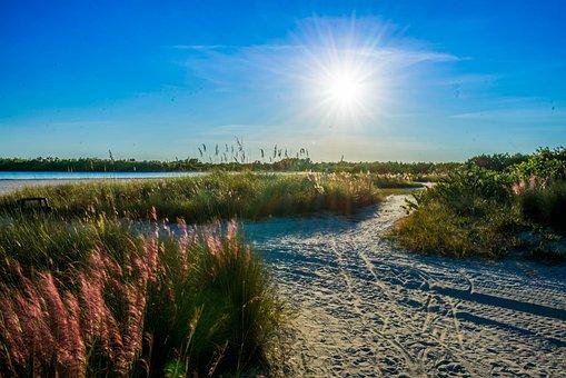 Tigertail Beach, Marco Island, Sunstar, Landscape