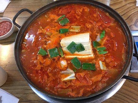 Korean Stew, Tofu, Spicy