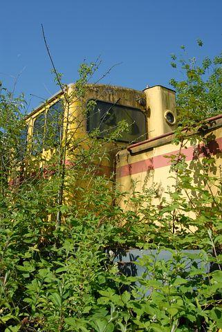 Diesellock, Lock, Train, Retired, Turned Off, Old