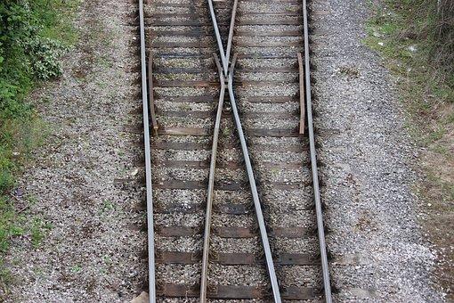 Train, Tracks, Train Tracks, Junction, Train Junction