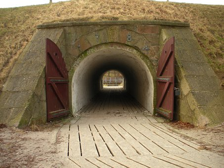Fortress Ramparts, Detail, Ports, Tunnel Vault