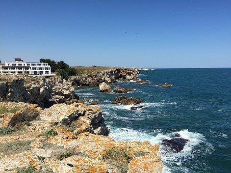 Tyulenovo, Black Sea, Nature, Sky, Summer, Coast, Relax