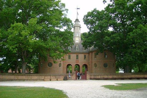 Old Williamsburg, History, Virginia, Colonies