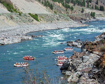 River Rafting, Fraser River, Water, British Columbia