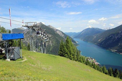 Achensee, Tyrol, Kramsach, Inntal Valley, Mountains
