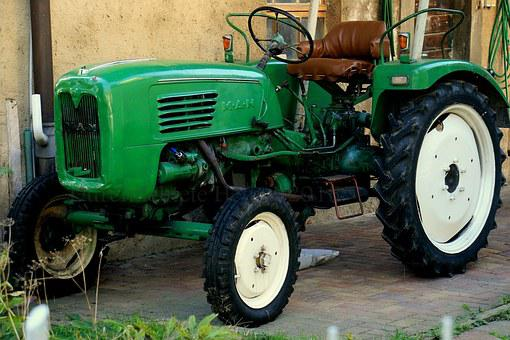 Tractor, Agriculture, Farm, Commercial Vehicle, Green
