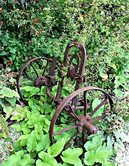 Plough, Field Device, Antique, Old, Farm, Rusted