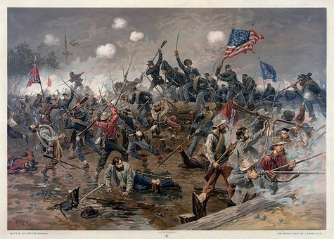Civil War, Battle, America, History, Northern States