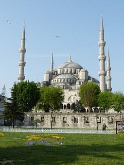 Istanbul, Turkey, Mosque, Blue Mosque, Historically