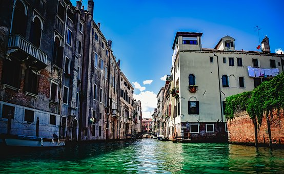 Venice, Italy, City, Urban, Buildings, Architecture