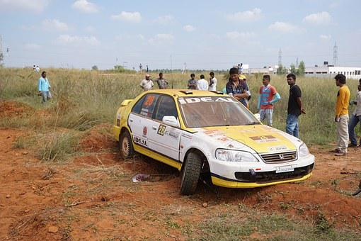 Rally, Car, Wheelout