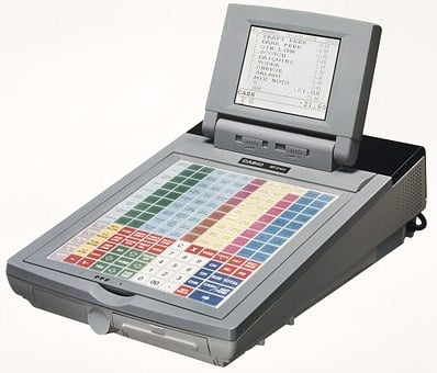 Casio, Qt2100, Epos, Pos, Cash Register