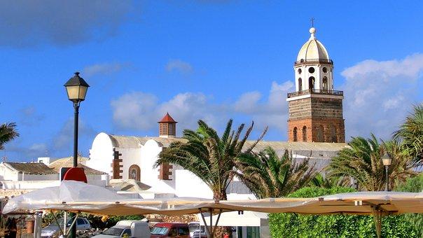 Lanzarote, Costa Tequise, Church