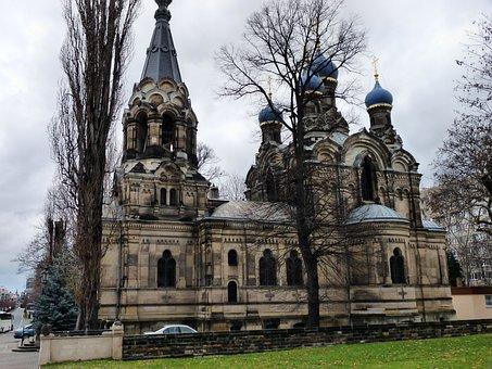 Russian Orthodox, Church In Dresden