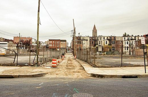 Urban, Baltimore, North Charles Street, City, Abandoned