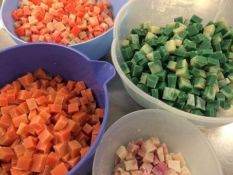Soap, Soap Making, Handmade, Fun, Green, Craft, Orange