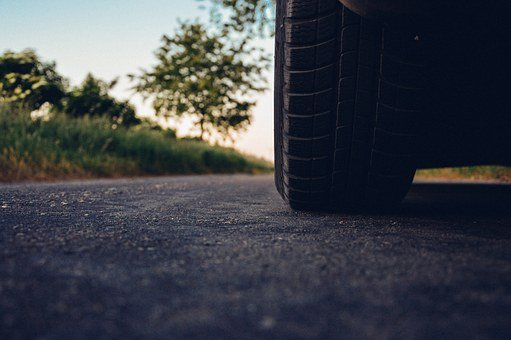 Car, Road, Tire, Asphalt, Vehicle, Drive, Driving