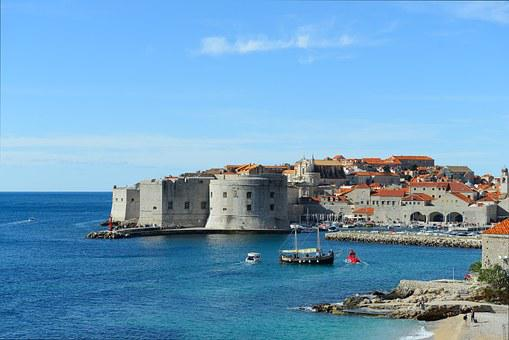 Dubrovnik, Old Town, Old, Town, Europe, City, Medieval