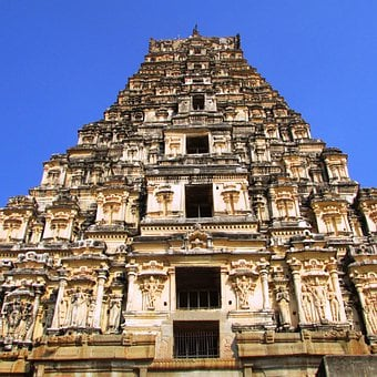Shrine, Virupaksha Temple, Hampi, India, Landmark