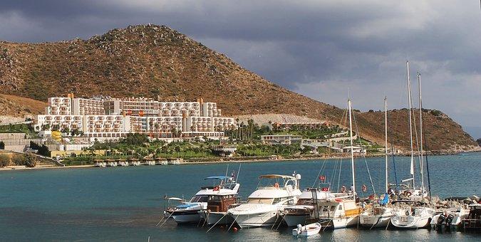 Bodrum, Hotel, Sea, Mediterranean Sea, Vacation