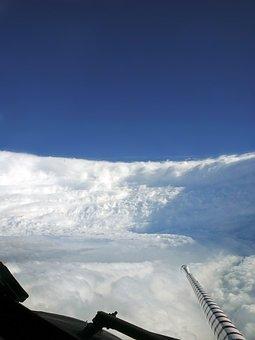 Hurricane, Katrina, Tropical Cyclone, Clouds, Cyclone