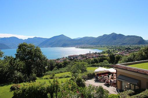 Italy, Iseo, Lake, Water, Landscape
